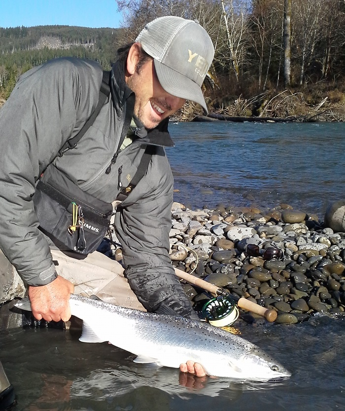 Before the high water olympic peninsula fly fishing blog for Olympic peninsula fishing report