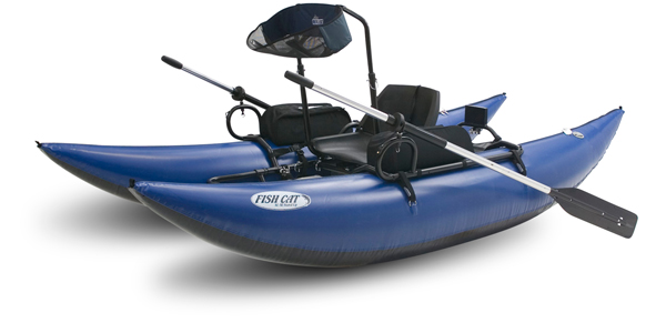 Pontoons waters west fly fishing outfitters port for Fishing pontoon boat reviews